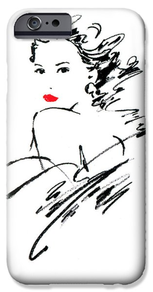 Pastel iPhone Cases - Monique Variant 1 iPhone Case by Giannelli