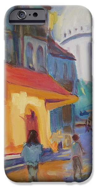 Monmartre iPhone Case by Julie Todd-Cundiff