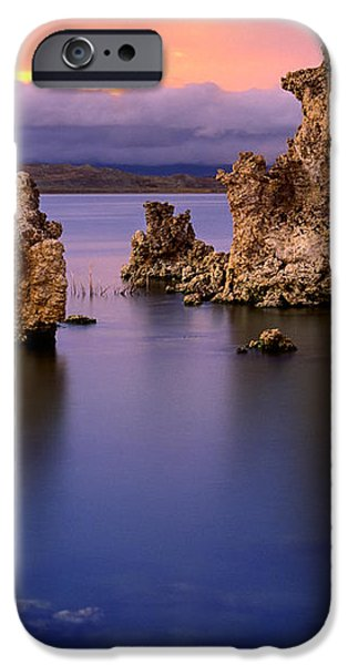 Mono Lake Afterglow iPhone Case by Inge Johnsson