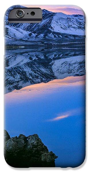 Mono Lake Twilight iPhone Case by Inge Johnsson