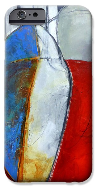 Recently Sold -  - iPhone Cases - Monolith In Red iPhone Case by Jane Davies