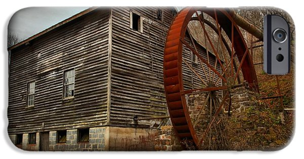 Grist Mill iPhone Cases - Monroe West Virginia Grist Mill iPhone Case by Adam Jewell