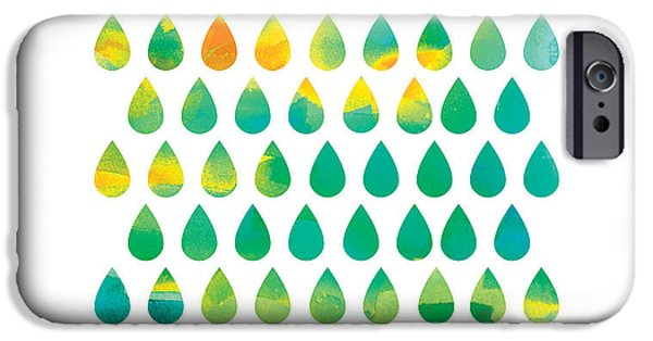 Rain iPhone Cases - Monsoon Rain iPhone Case by Budi Kwan