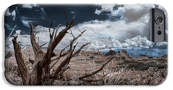 Sedona iPhone Cases - Monsoon Weather iPhone Case by Sean Foster