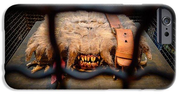 Orlando Magic iPhone Cases - Monster Book of Monsters by Edwardus Lima iPhone Case by Edward Fielding