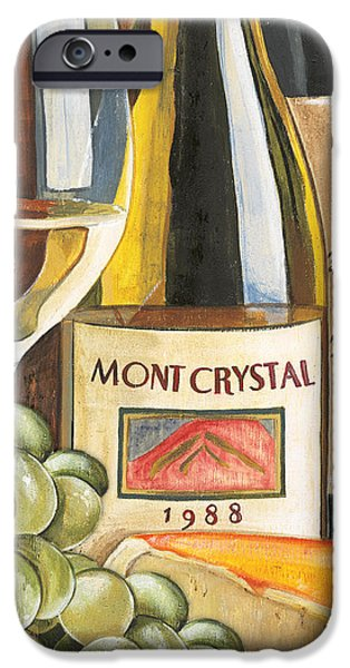 Mont Crystal 1988 iPhone Case by Debbie DeWitt