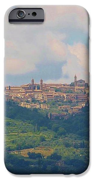 Montalcino iPhone Case by Marilyn Dunlap