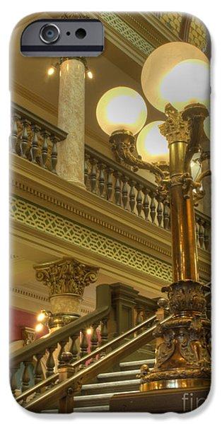 Senate iPhone Cases - Montana State Capitol iPhone Case by Juli Scalzi