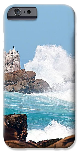 Monterey Bay Waves iPhone Case by Artist and Photographer Laura Wrede
