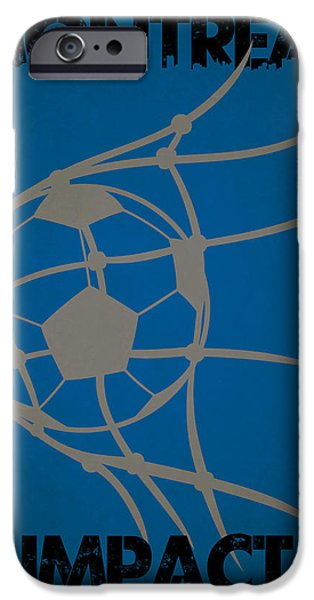 Impacting iPhone Cases - Montreal Impact Goal iPhone Case by Joe Hamilton
