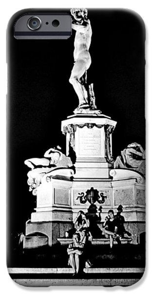 Freedom iPhone Cases - David by Michelangelo iPhone Case by Mircea Florian Hamza