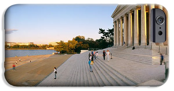 Politics Photographs iPhone Cases - Monument At The Riverside, Jefferson iPhone Case by Panoramic Images