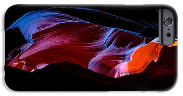 Nature Abstract iPhone Cases - Monument Light iPhone Case by Chad Dutson