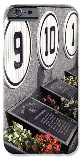 Monument Park -  Yankee Stadium iPhone Case by Allen Beatty