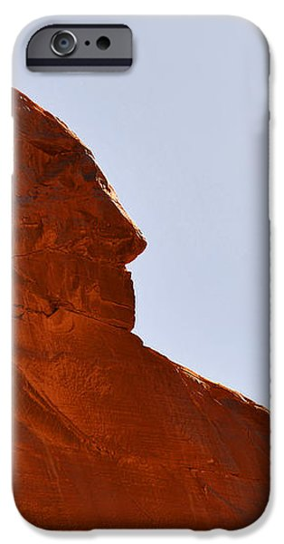 Monument Valley Indian Chief iPhone Case by Christine Till