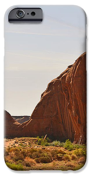 Monument Valley Sleeping Dragon iPhone Case by Christine Till