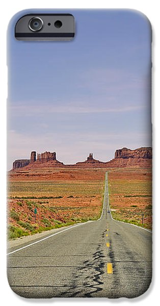 Monument Valley - The Classic View iPhone Case by Christine Till
