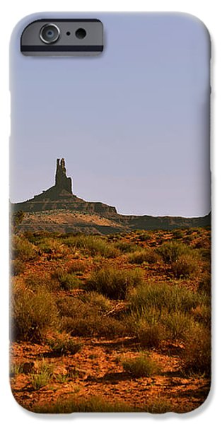 Monument Valley - Unusual landscape iPhone Case by Christine Till