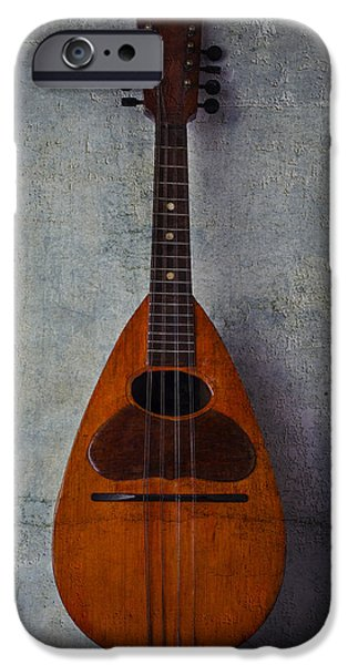 Chip iPhone Cases - Moody Mandolin iPhone Case by Garry Gay