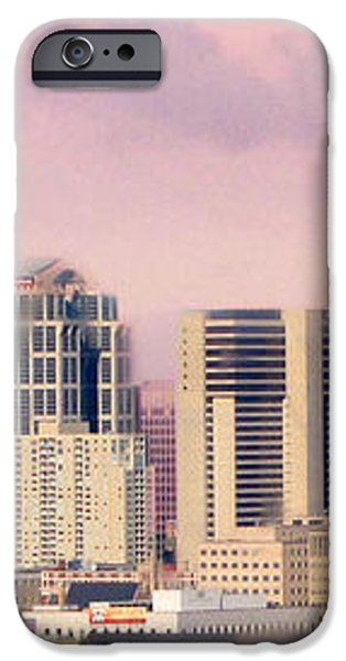 Moon Over Nashville iPhone Case by Amy Tyler