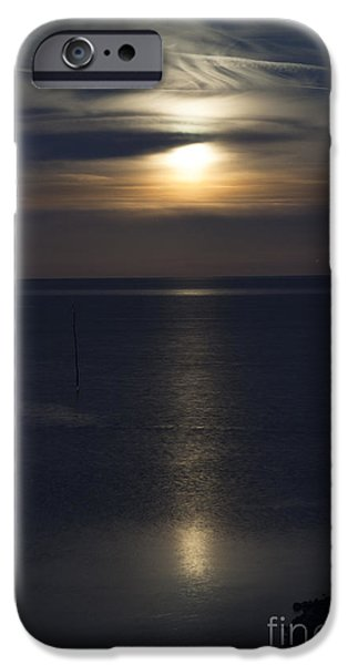 Moon Rise iPhone Case by Anne Gilbert