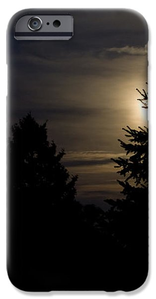 Moon Rising 02 iPhone Case by Thomas Woolworth