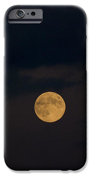 Moon Rising 07 iPhone Case by Thomas Woolworth