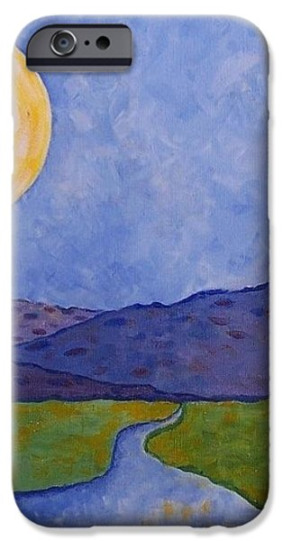 Moon River iPhone Case by Susan Williams