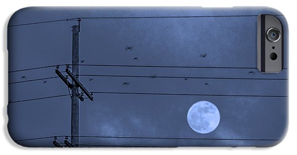 Power Photographs iPhone Cases - Moonbeams iPhone Case by Don Spenner