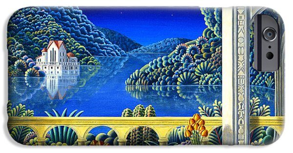 Lake House iPhone Cases - Moondance iPhone Case by Andy Russell