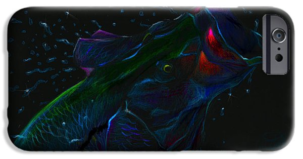 Transportation Pastels iPhone Cases - Moonlight Mouth  iPhone Case by Yusniel Santos