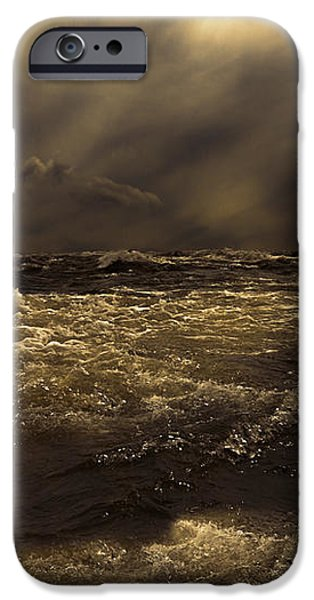 Moonlight On The Water iPhone Case by Bob Orsillo