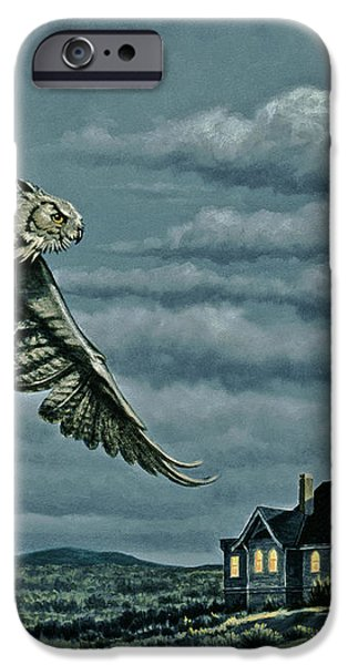 Moonlight Quest   iPhone Case by Paul Krapf