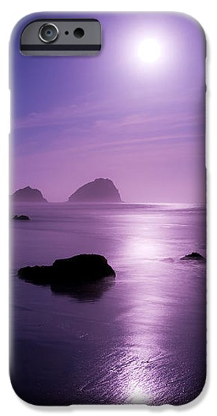 Moonlight Reflection iPhone Case by Chad Dutson
