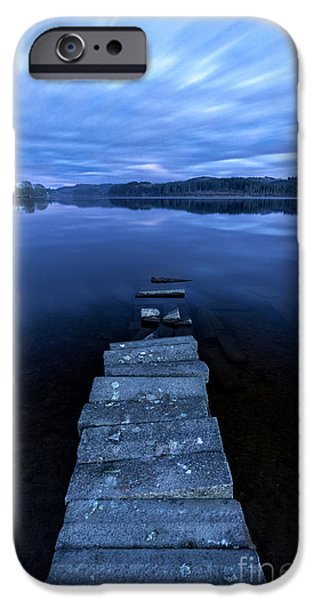 Moonlight Shadow iPhone Case by John Farnan