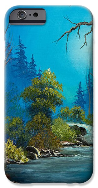 Moonlight Stream iPhone Case by C Steele