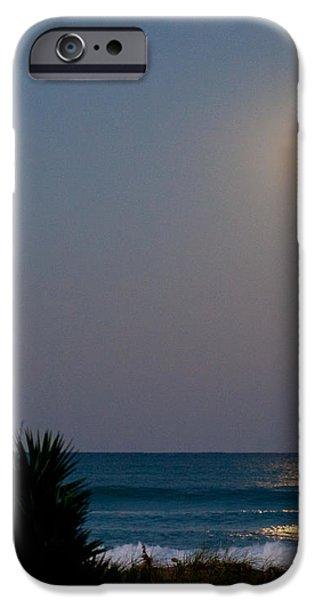 Moonlit Stroll iPhone Case by Michelle Wiarda