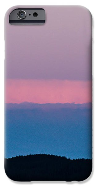Moonrise iPhone Case by Christina Klausen