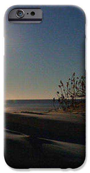 Moonrise Over the Dunes iPhone Case by JC Findley