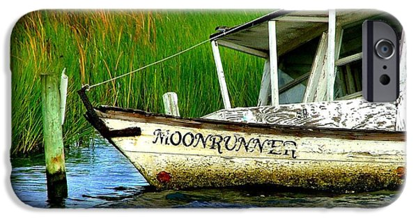 Artography Photographs iPhone Cases - Moonrunners Last Days iPhone Case by Julie Dant