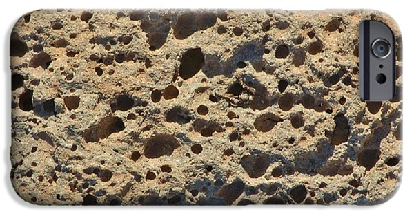 Moonscape iPhone Cases - Moonscape iPhone Case by Linda Brody