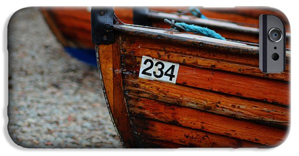 Boat iPhone Cases - Moored Up iPhone Case by Martin Newman