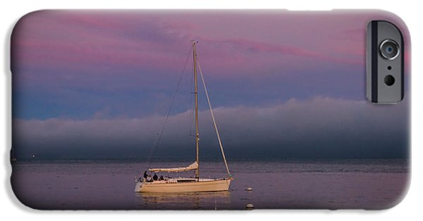 Sausalito iPhone Cases - Moorings iPhone Case by Mitch Shindelbower