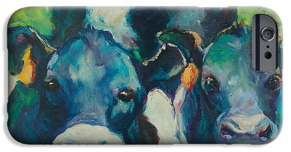 Oreo iPhone Cases - Moove Over iPhone Case by Sue Scoggins