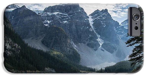 Fed iPhone Cases - Moraine Lake iPhone Case by Julie Chambers