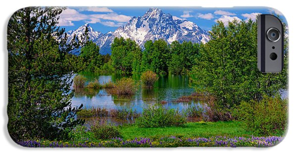 National Gallery Art iPhone Cases - Moran from Pilgrim Creek iPhone Case by Greg Norrell