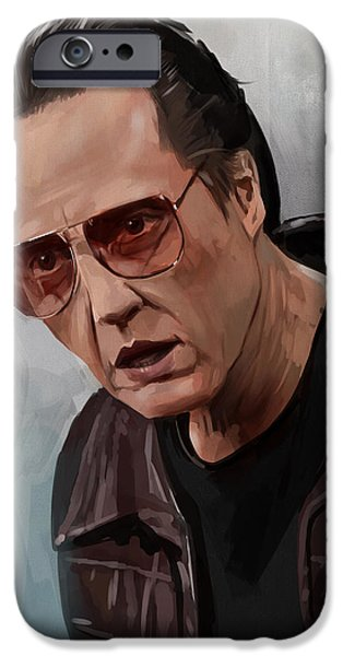 Celebrities Art iPhone Cases - More Cowbell iPhone Case by Steve Goad