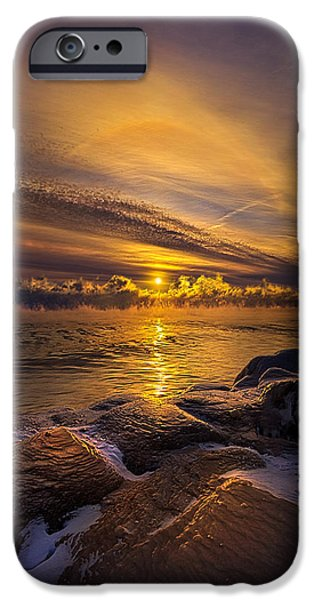 Snow iPhone Cases - More Than a Memory iPhone Case by Phil Koch