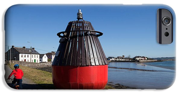 Bouys iPhone Cases - Moresby Memorial Bouy , County iPhone Case by Panoramic Images