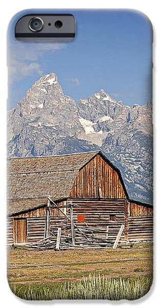 Mormon Barn 2 iPhone Case by Marty Koch